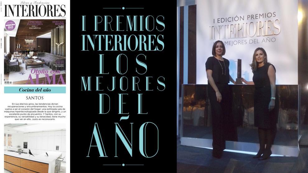 Mejor Cocina del Año: la marca de cocinas Santos galardonada en la ...