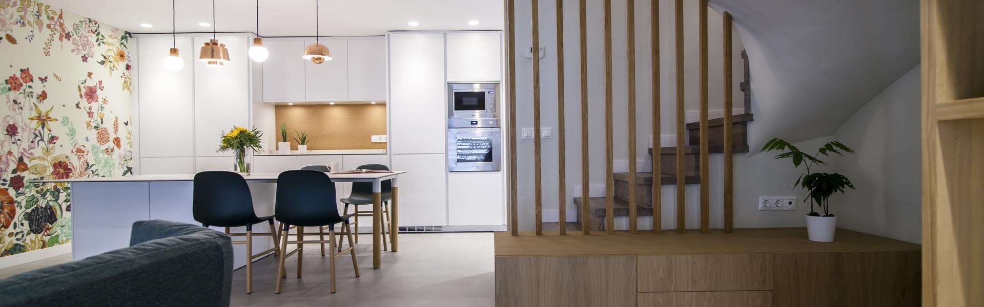 Santos cocinas nos presenta las cocinas abiertas artycocina - Unir cocina y salon ...