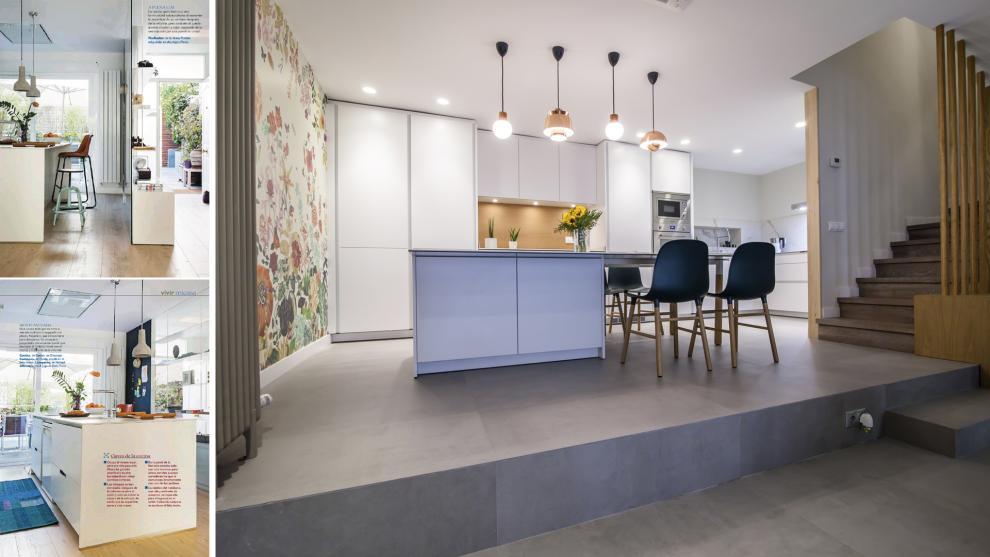 Cocinas Blancas Con Islas Una Propuesta Luminosa C Moda
