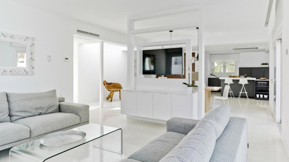 Muebles de cocina que ayudan a crear ambientes abiertos y acogedores