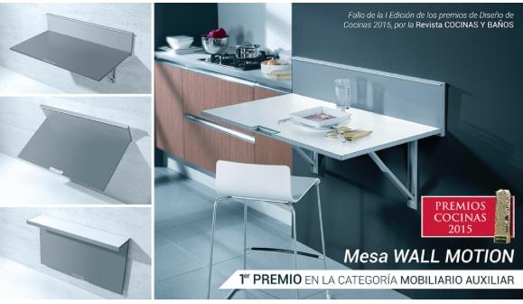 Mesa de Cocina Cancio Wall Motion
