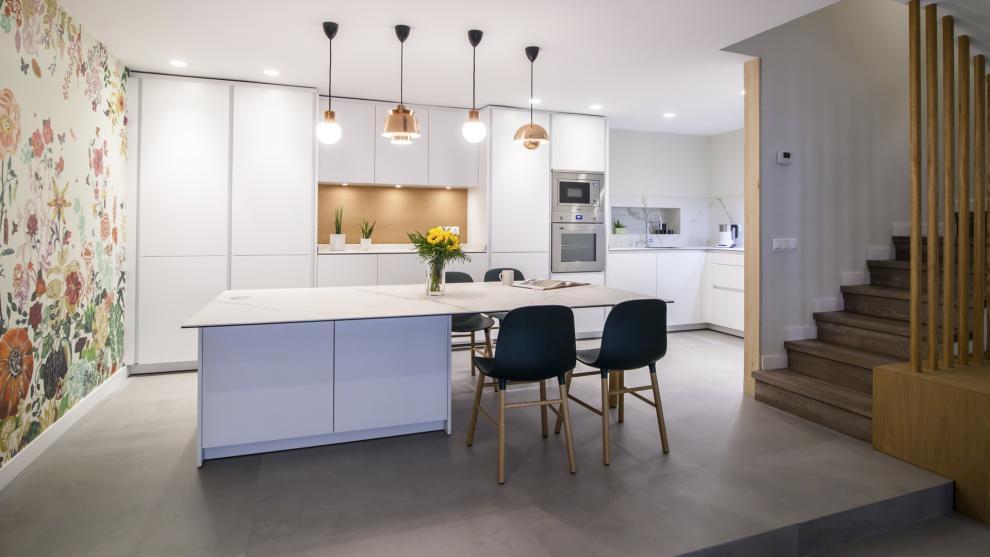 Santos entre las mejores cocinas for Disenos cocinas abiertas