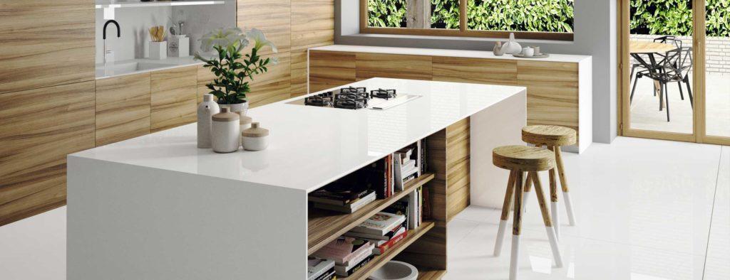 Cocinas Encimeras Blancas Silestone