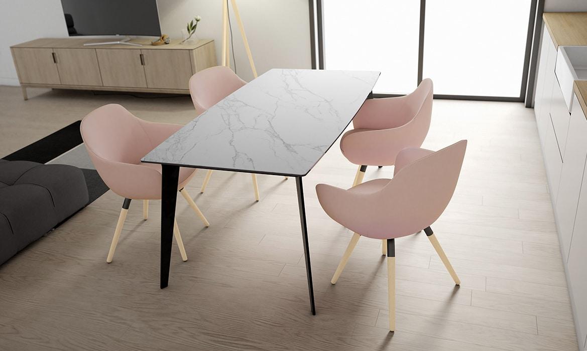 Mesas de Cocina Cancio presenta su modelo Infinity - ARTY Cocinas ...